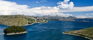 Titi Caca lake Royalty Free Stock Photography