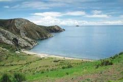 titicaca λιμνών της Βολιβίας στοκ εικόνα