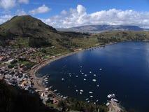 titicaca λιμνών Στοκ Φωτογραφίες