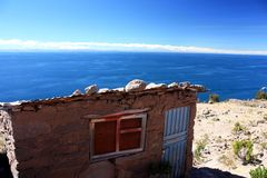 titicaca озера стоковые фото