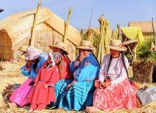 titicaca Перу озера стоковая фотография rf