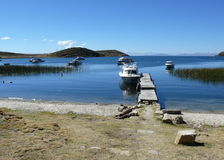titicaca Перу озера Стоковое Фото