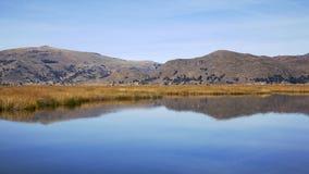 Titicaca湖2 免版税库存照片