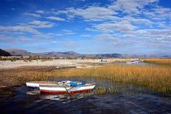 湖titicaca 免版税图库摄影