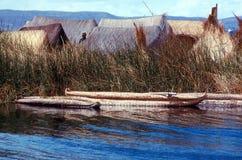 湖titicaca 免版税库存照片