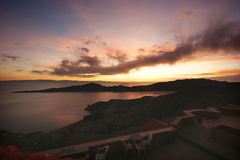 Titicaca del lago Fotografie Stock