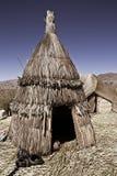 Titicaca del lago hut Fotografia Stock