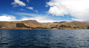 Titicaca horizon Royalty Free Stock Photo