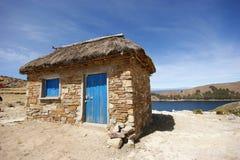 titicaca hut Stock Photography