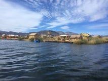 Titicaca jezioro obrazy royalty free