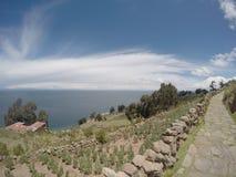 Titicaca jezioro Fotografia Royalty Free