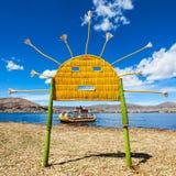 Titicaca lake arkivfoto