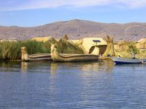 Titicaca lake Royalty Free Stock Images
