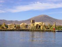 Titicaca lake Stock Image