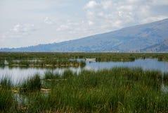 Titicaca Lake Boat Ride stock image