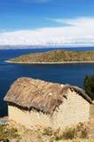Titicaca lake, Bolivia, Isla del Sol landscape Stock Image