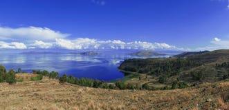 Titicaca lake Bolivia Stock Image