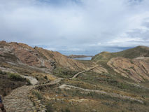 Titicaca lake, bolivia Royalty Free Stock Photography