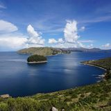 Titicaca lake royalty free stock image