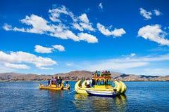 Titicaca lake, Puno Stock Image