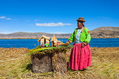 Titicaca lake, Puno Royalty Free Stock Photo