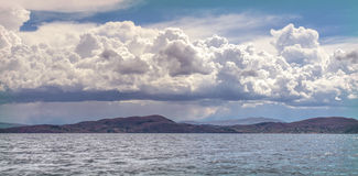 Titicaca Lake, in Puno, Peru, South America Stock Photo