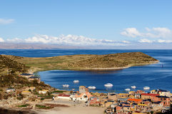 Titicaca lake Stock Photography