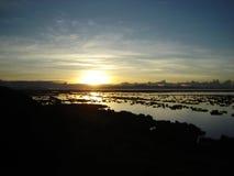 Titicaca ` s日出 免版税库存照片