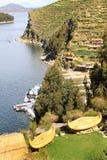 Titicaca's  Sun islands Stock Image