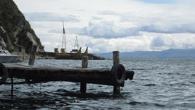 Titicaca See stockbild