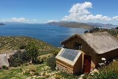 Titicaca See Lizenzfreies Stockbild