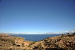 Titicaca See. Bolivien lizenzfreie stockfotografie