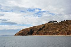Titicaca See. Bolivien stockbild