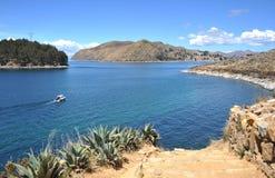 Titicaca See. Bolivien lizenzfreie stockfotos