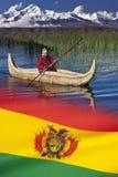 Titicaca-See - Bolivien Stockfotografie