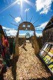 Titicaca-See Sun Tor Lizenzfreies Stockbild