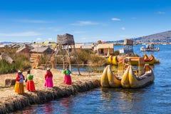 Titicaca sjö, Puno arkivbild