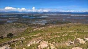 Titikaka de Lago - Puno Imagen de archivo libre de regalías