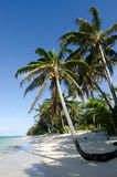 Titikaveka beach in Rarotonga Cook Islands Stock Images