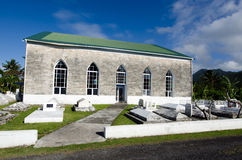 Titikaveka Church in Rarotonga Cook Islands. Royalty Free Stock Photo