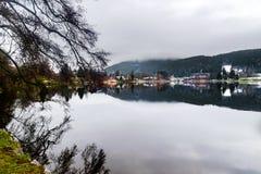 Titisee et lacs Schluchsee en Allemagne image libre de droits