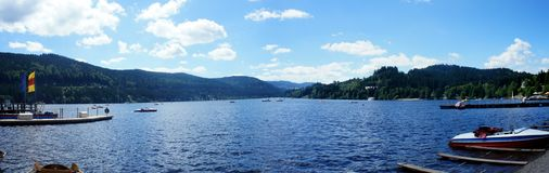 The Titisee Lake in the Black Forest Royalty Free Stock Image