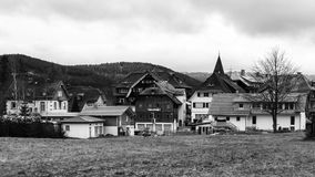 Titisee Village Royalty Free Stock Photography