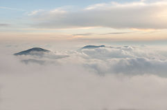 Titiwangsa Mountains also known as Sankalakhiri Range in Thailand. Royalty Free Stock Photos