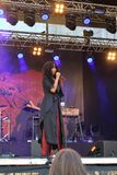 Titiyo på den LuleÃ¥ hamnfestivalen royaltyfri foto