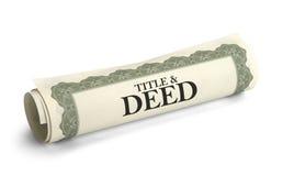 Free Title Deed Stock Image - 41043141