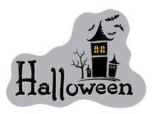Title -- Halloween  Royalty Free Stock Photo