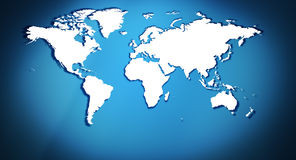 Title world map background Stock Photo