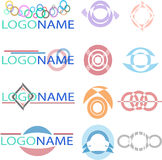 Titles_Logos Fotografie Stock