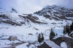 Titlis山在瑞士 免版税图库摄影